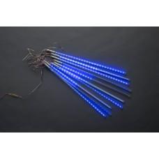 Тающие сосульки LED-PLM-METEOR TUBE-540-10-12V-B синие, 10шт, 3*0.5м (несоединяемая)