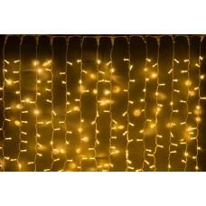 Светодиодный занавес LED-PLS-5720-240V-2*6М-WW/WH (белые теплые светодиоды/белый провод) 2*6 м
